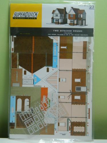 Series B Country Town Buildings - Harrison Brown Models