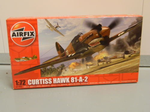 Airfix A01003 1:72 Curtiss Hawk 81-A-2 Plastic Kit