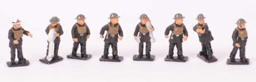 1940's Wartime WWII Set - Painted