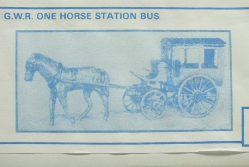 PW26 1:76/OO GWR One Horse Station Bus White Metal Kit