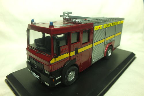 FBM150DG-S 1:50 Scale Dodge G Fire Engine/Appliance Water Tender Ladder