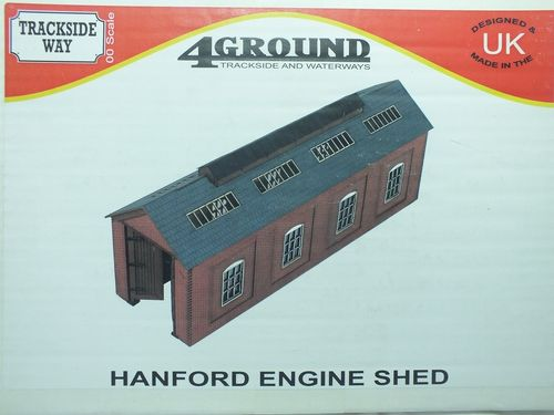 OO-TS-109 1:76/OO Hanford Engine Shed - Laser Cut Building Kit