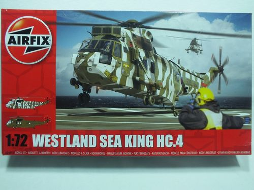 Airfix A04056 1:72 Westland Sea King HC.4 Plastic Kit