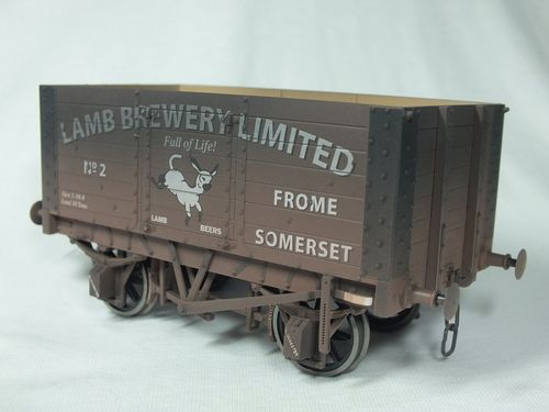 SSO2 7 Plank Wagon - Lamb Brewery - No.2 - Weathered